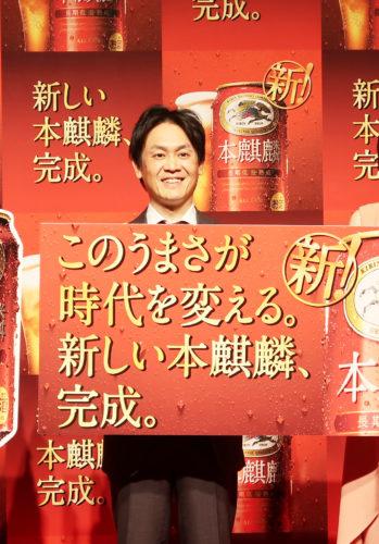 江口洋介が「よりビールに近くなった」/キリンビール