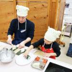 節分の日に親子食育教室/旭松食品