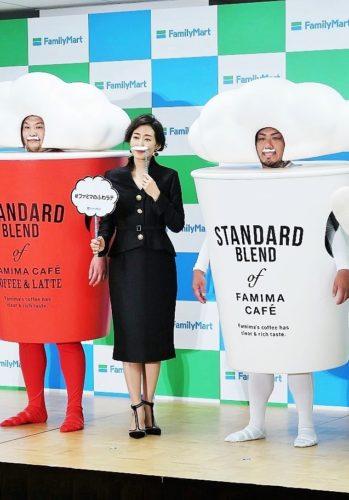 新カフェラテCMに女優の木村多江を起用/ファミリーマート