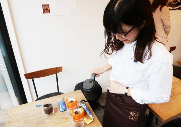 モンカフェで究極のセルフカフェ!1杯50円でプロの技/片岡物産