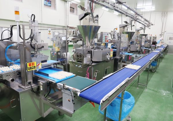 日本一の餃子工場が完成/イートアンド