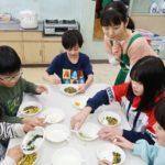 発売60周年「のりたま」で食育授業/丸美屋食品工業