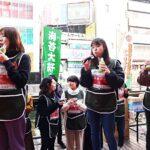 節分で丸かぶりコンテスト/大阪海苔協同組合