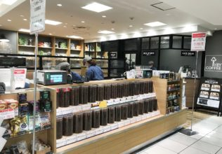 直営の東武百貨店池袋店が、カフェ併設で装い新たに/キーコーヒー
