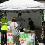 大阪で野菜の無料配布/JA全農えひめ など4団体