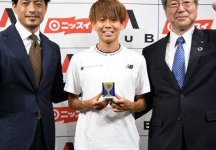 神野選手のEPAは一般生活者の4倍/日本水産×AuB