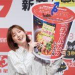 新チャルメラカップCMに本田翼さん/明星食品