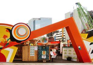 東京・八重洲に出現 見て食べて楽しんでSDGsを体験!